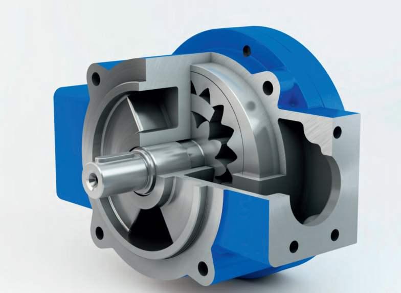 增压齿轮泵
